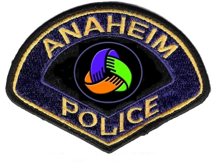 Anaheim Police Human Relations Patch