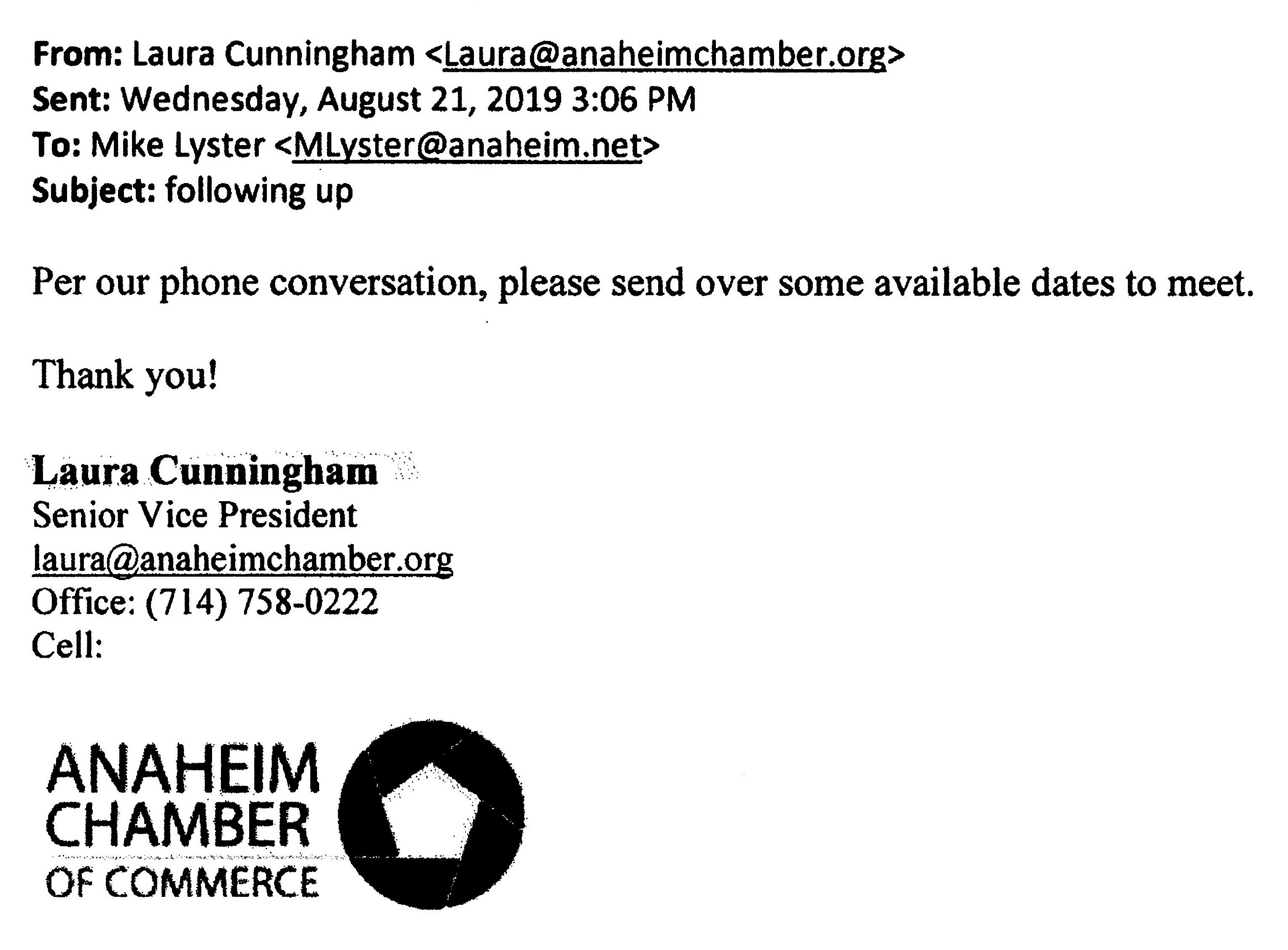 Email-Cunningham Lyster