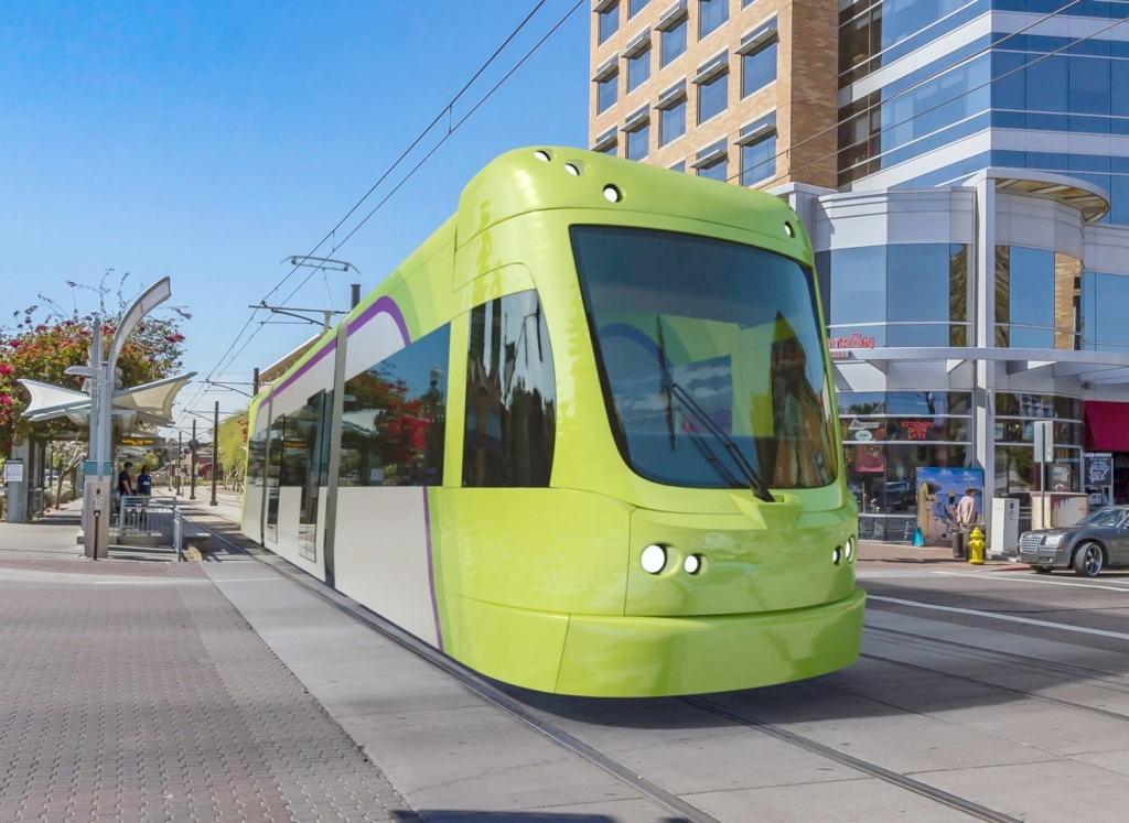 This image has an empty alt attribute; its file name is streetcar.jpg
